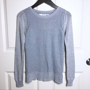 Anthropologie Sparrow Cotton Blend Crew  Sweater